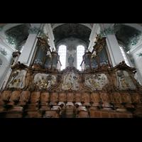Sankt Gallen (St. Gallen), Kathedrale (Chororgel), Chororgel mit Chorgestühl