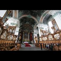 Sankt Gallen (St. Gallen), Kathedrale (Chororgel), Chororgel aus zwei gegenüberliegenden Teilen