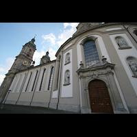 Sankt Gallen (St. Gallen), Kathedrale (Chororgel), Außenansicht