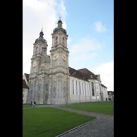 Sankt Gallen (St. Gallen), Kathedrale (Chororgel), Gesamtansicht