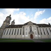 Sankt Gallen (St. Gallen), Kathedrale (Chororgel), Seitenansicht