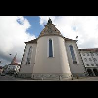 Sankt Gallen (St. Gallen), Kathedrale (Chororgel), Chor