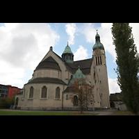 Sankt Gallen (St. Gallen) - Neudorf, St. Maria, Gesamtansicht vom Chor aus