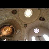 Sankt Gallen (St. Gallen) - Neudorf, St. Maria, Kuppe und CHorgewölbe