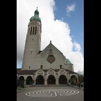 Sankt Gallen (St. Gallen) - Neudorf, St. Maria, Fassade mit Turm
