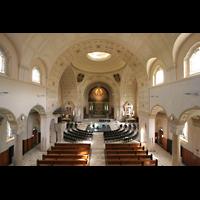 Sankt Gallen (St. Gallen) - Neudorf, St. Maria, Blick von der Orgelempore