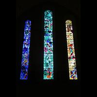 Zürich, Fraumünster, Chorfenster von Chagall