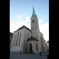 Zürich, Fraumünster, Chor mit Turm