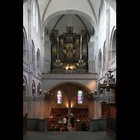 Zürich, Großmünster, Orgel