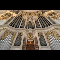 Sankt Urban (St. Urban), Klosterkirche, Orgelprospekt