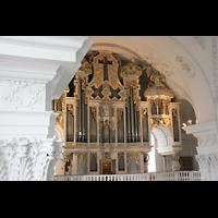 Sankt Urban (St. Urban), Klosterkirche, Orgel-Prospekt