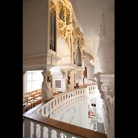 Sankt Urban (St. Urban), Klosterkirche, Orgelempore