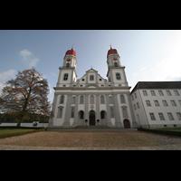 Sankt Urban (St. Urban), Klosterkirche, Fassade