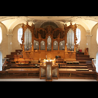 Horgen, Reformierte Kirche, Orgelempore
