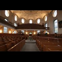 Horgen, Reformierte Kirche, Innenraum