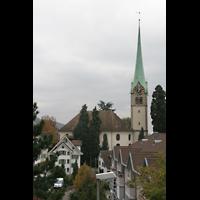 Horgen, Reformierte Kirche, Gesamtansicht