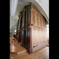 Engelberg, Klosterkirche (Hauptorgel), Gehäuse der großen Orgel