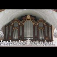 Engelberg, Klosterkirche (Hauptorgel), Prospekt der großen Orgel