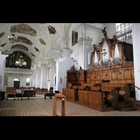 Engelberg, Klosterkirche (Hauptorgel), Chor- und Hauptorgel