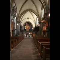Chur, Kathedrale St. Mariae Himmelfahrt (Chororgel), Hautpschiff und Chor