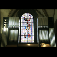 Chur, Kathedrale St. Mariae Himmelfahrt (Chororgel), Prospekt der großen Orgel