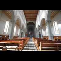 Glarus - Riedern, Stadtkirche, Blick zum Chor