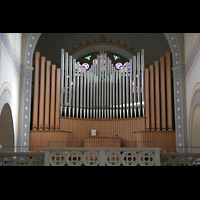 Glarus - Riedern, Stadtkirche, Orgelprospekt