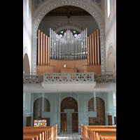 Glarus - Riedern, Stadtkirche, Orgel