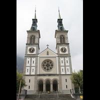 Glarus - Riedern, Stadtkirche, Fassade