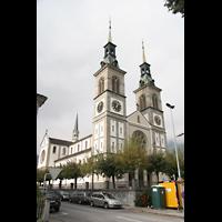 Glarus - Riedern, Stadtkirche, Gesamtansicht