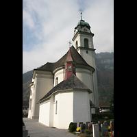 Näfels, St. Hilarius, Chor und Kapelle