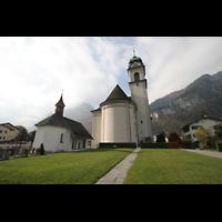 Näfels, St. Hilarius, Kirche und Kapelle