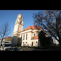 Berlin - Pankow, Hoffnungskirche, Außenansicht