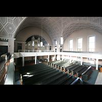 Berlin - Pankow, Hoffnungskirche, Ansicht von der Orgelempore