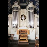 Berlin - Pankow, Hoffnungskirche, Orgel und Spieltisch