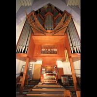 Berlin (Wilmersdorf), Ev. Kirche am Hohenzollernplatz (Hauptorgel), Orgel mit Spieltisch