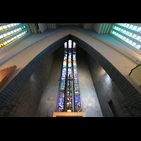 Berlin (Wilmersdorf), Ev. Kirche am Hohenzollernplatz (Hauptorgel), Chorraum