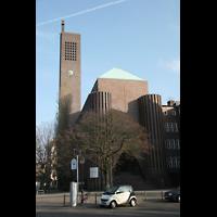 Berlin (Wilmersdorf), Ev. Kirche am Hohenzollernplatz (Hauptorgel), Außenansicht
