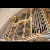 Berlin (Lichtenberg), Kirche zur frohen Botschaft, Karlshorst (Amalien-Orgel), Orgelprospekt