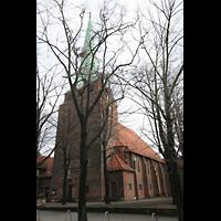 Berlin (Lichtenberg), Kirche zur frohen Botschaft, Karlshorst (Amalien-Orgel), Turm