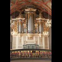 Halle (Saale), Konzerthalle (ehem. Ulrichskirche), Emporenorgel-Prospekt