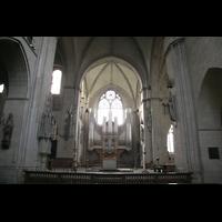 Münster, Dom St. Paulus, Querhaus mit Orgel