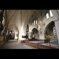 Münster, Dom St. Paulus, Blick vom Chorumgang in Richtung Auxiliarwerk