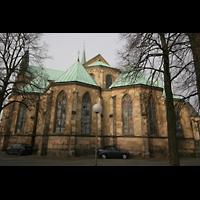 Münster, Dom St. Paulus, Chor Außenansicht