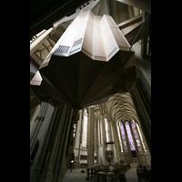 Münster, St. Lamberti (Chororgel), Orgel mit Blick zum Chor