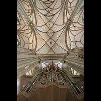Münster, St. Lamberti (Hauptorgel), Orgel und Deckengewölbe
