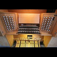 Wesel, Willibrordi-Dom, Spieltisch von oben
