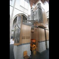 Wesel, Willibrordi-Dom, Orgel von der Seite