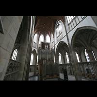 Wesel, Willibrordi-Dom, Orgel im Chorraum