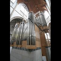 Wesel, Willibrordi-Dom, Orgelperspektive